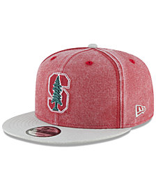 New Era Stanford Cardinal Rugged Canvas Snapback Cap