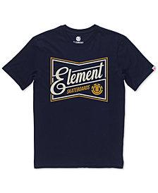 Element Men's Bate Logo-Print T-Shirt