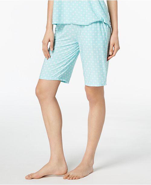 Created Geometric for Geo Blossom Shorts Print Alfani Bermuda Macy's Pajama 7XxOqWXBnd
