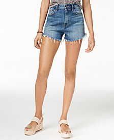 Lucky Brand Frayed Denim Shorts