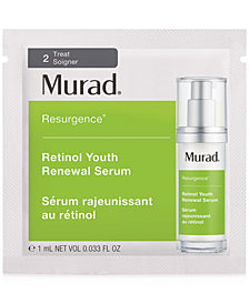 Receive a FREE Murad Retinol Youth Renewal Serum with any $50 beauty purchase!