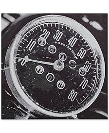 INK+IVY Speedometer Dimensional Box Wall Art