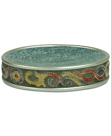 CLOSEOUT! Jessica Simpson Elara Teal Soap Dish