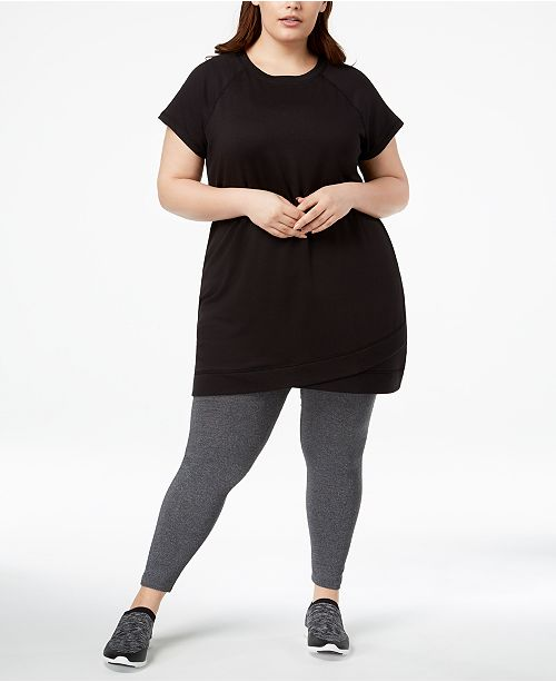 Ideology Plus Size Tunic, Created for Macy's