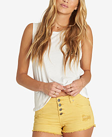 Billabong Juniors' Buttoned Up Denim Shorts