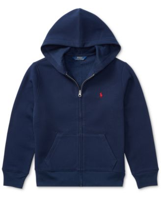 Polo Ralph Lauren Little Boys Full Zip Hoodie Sweaters Kids Macys