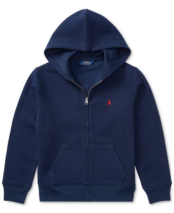 Polo Ralph Lauren Big, Little, Toddler Boys Full Zip Hoodie