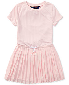 Polo Ralph Lauren Pleated Dress, Toddler Girls