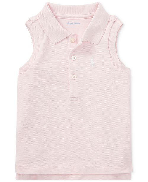 5e0a137d49a Polo Ralph Lauren Sleeveless Cotton Polo