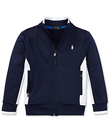 Polo Ralph Lauren Mock Neck Jacket, Little Boys