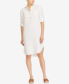 Lauren Ralph Lauren Linen Shirtdress