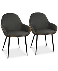 Clubhouse Dining Chair (Set of 2), Quick Ship