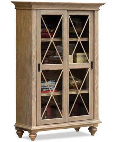 Brompton Home Office Sliding Door Bookcase