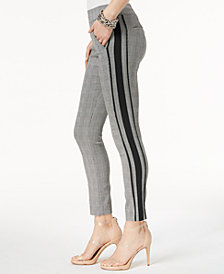 I.N.C. Side-Stripe Straight-Leg Pants, Created for Macy's