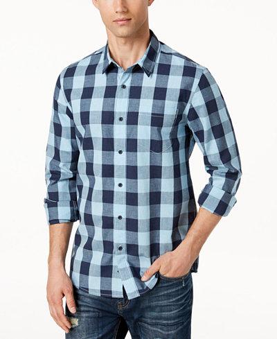 American Rag Men's Buffalo Plaid Shirt, Created for Macy's
