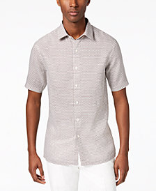 Tasso Elba Men's Linen Asmara Shirt, Created for Macy's