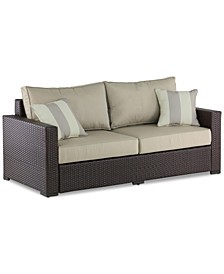"Laguna 71"" Outdoor Sofa, Quick Ship"