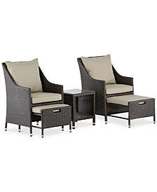Laguna 5-Pc. Outdoor Set, Quick Ship
