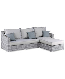 Vallauris 2-Pc. Outdoor Sectional, Quick Ship