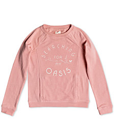 Roxy Big Girls & Big Girls Plus Graphic-Print Sweatshirt,