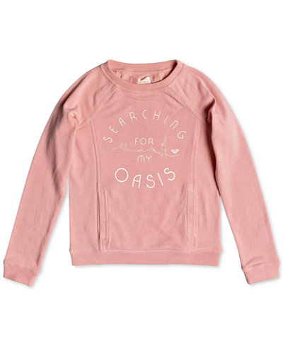 Roxy Big Girls & Big Girls Plus Graphic-Print Sweatshirt,