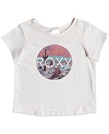 Roxy Graphic-Print Cotton T-Shirt, Little Girls