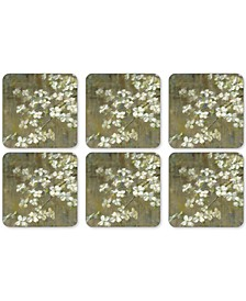 Pimpernel Dogwood in Spring Set of 6 Coasters