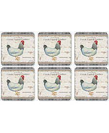 Pimpernel On the Farm Set of 6 Coasters