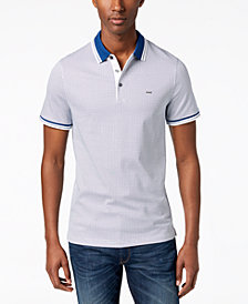 Michael Kors Men's Printed Greenwich Polo
