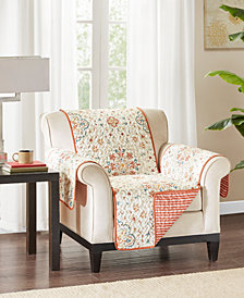 Madison Park Tissa Reversible Printed Armchair Protector