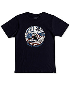 Quiksilver Graphic-Print Cotton T-Shirt, Little Boys