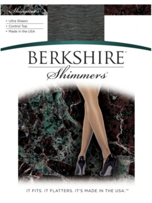 Image of Berkshire Shimmers Ultra Sheer Control Top Pantyhose 4429