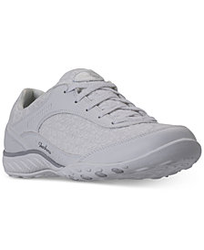 Skechers Women's Relaxed Fit: Breathe Easy - Poised Thrill Walking Sneakers from Finish Line