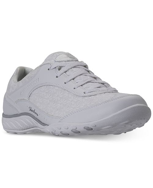 e59080120f45 ... Skechers Women s Relaxed Fit  Breathe Easy - Poised Thrill Walking  Sneakers from Finish Line ...