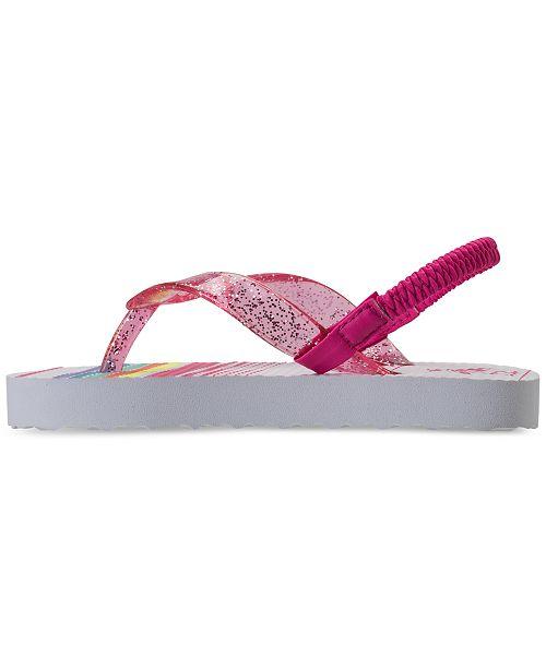97566077ea45 ... Original Penguin Toddler Girls  Gunner Flip-Flop Thong Sandals from  Finish ...