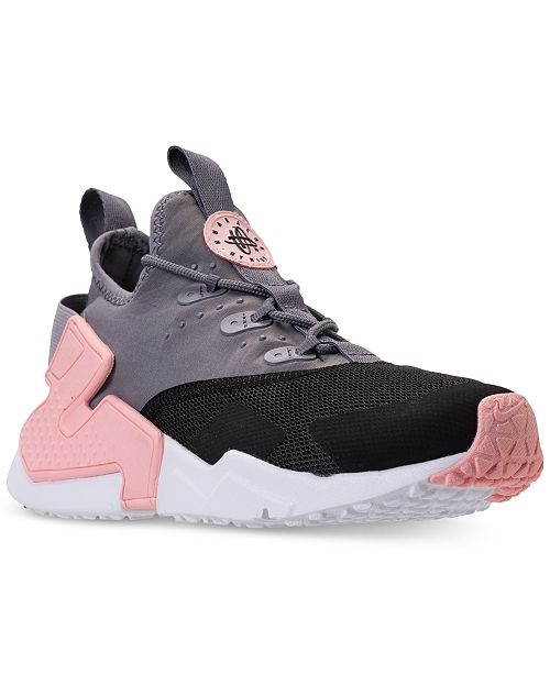 reputable site eef1f 7d2e3 ... Nike Big Girls  Huarache Drift Casual Sneakers from Finish ...