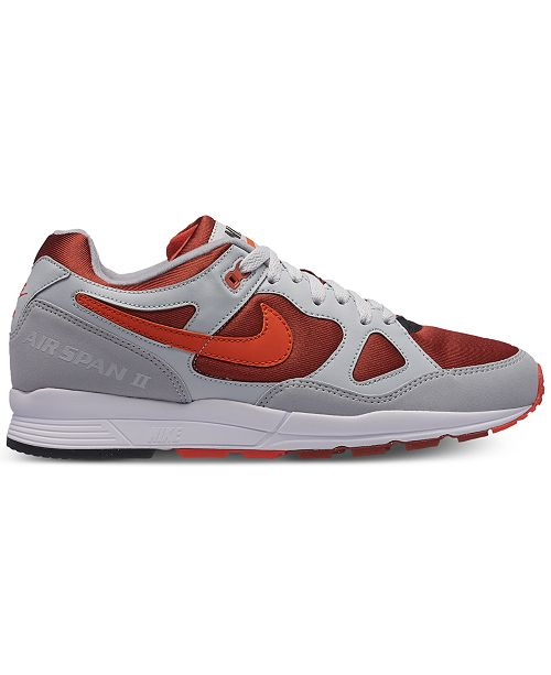 b041e60ffa1e86 Nike Men s Air Span II Casual Sneakers from Finish Line   Reviews ...
