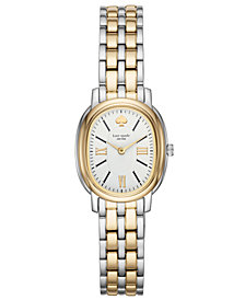 kate spade new york Women's Staten Two-Tone Stainless Steel Bracelet Watch 25mm