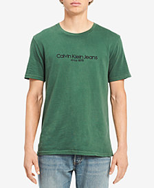Calvin Klein Jeans Men's Old School Logo-Print T-Shirt