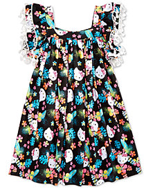 Hello Kitty Tassel-Trim Dress, Toddler Girls