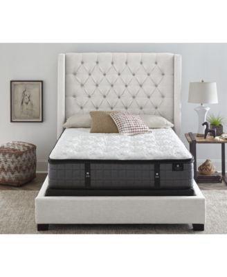 """by Aireloom 13.25"""" Vitagenic Memory Foam Plush Luxetop Mattress - Twin, Created for Macy's"""