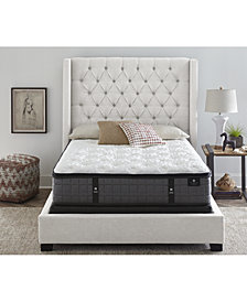 "Hotel Collection by Aireloom 13.25"" Vitagenic Memory Foam Plush Luxetop Mattress Set - Queen Split, Created for Macy's"