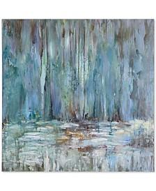 Uttermost Blue Waterfall Wall Art