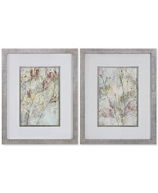 Uttermost Flower Dreams 2-Pc. Pastel Print Wall Art Set