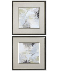 Abstract Vistas 2-Pc. Framed Printed Wall Art Set