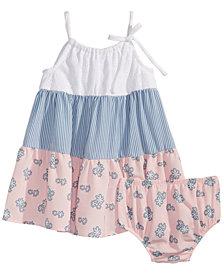 Bonnie Baby Baby Girls Tiered Sundress