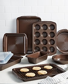 Circulon Symmetry Nonstick Chocolate Brown 5-Pc. Bakeware Set