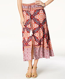 John Paul Richard Petite Printed Maxi Skirt