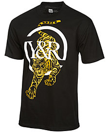 Young & Reckless Men's Panthera Logo-Print T-Shirt