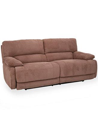 Nina Fabric Power Reclining Sofa Furniture Macy S